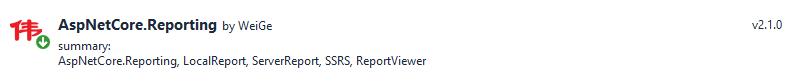 aspnetcore.reporting c#