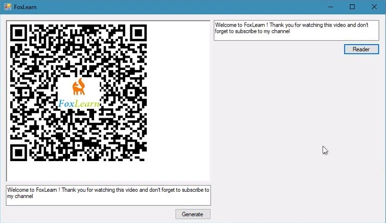 generate qr code with logo in c#