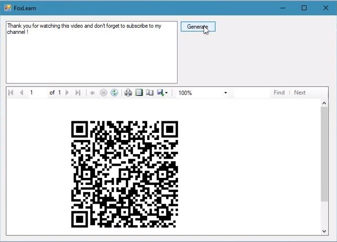 how to create qr code in ssrs report