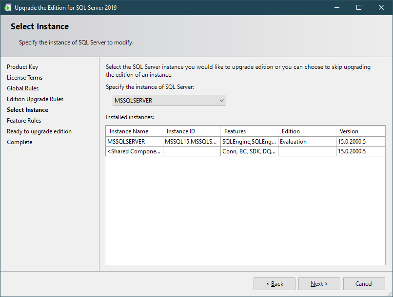 How to Change SQL Server Product Key