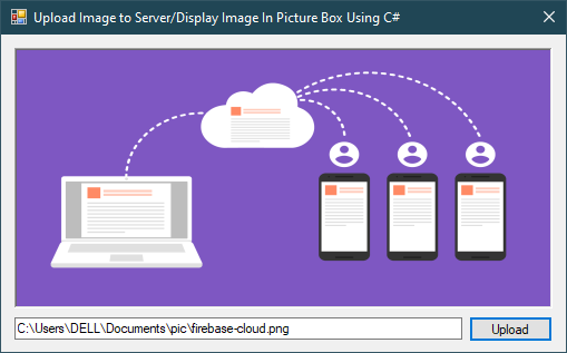 c# winform upload image to server